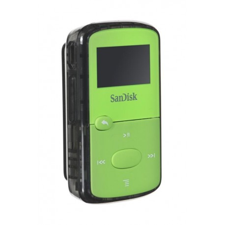 Sandisk MP3 CLIP JAM 8GB zielony